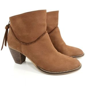 STEVEN By Steve Madden Leather Ankle Boot WESLEYY